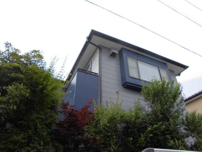 外壁シリコン塗装