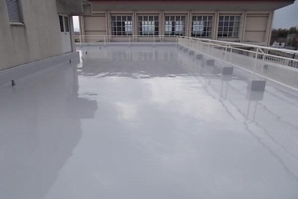 新潟市南区 屋上防水改修工事
