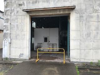 新潟市中央区 シャッター撤去工事
