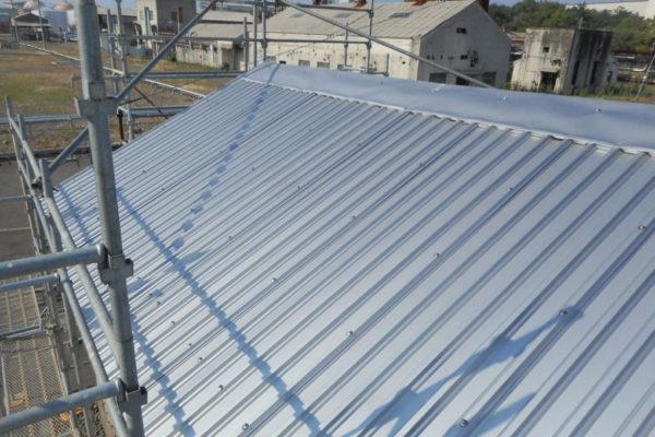 新潟市中央区 屋根カバーリング工事