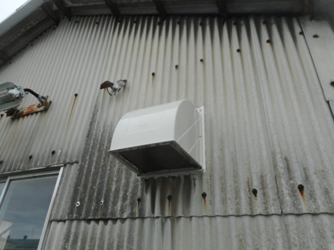 新潟市中央区 換気フード補修工事