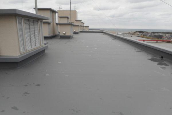 新潟市西区 屋上改修工事