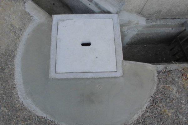 新潟市西区 側溝補修工事