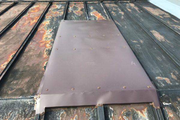 新潟市西区 屋根補修工事