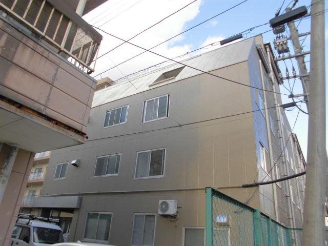 新潟市中央区 ビル外壁改修工事