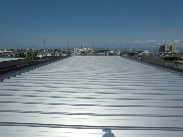 新潟市東区 屋根カバー工事
