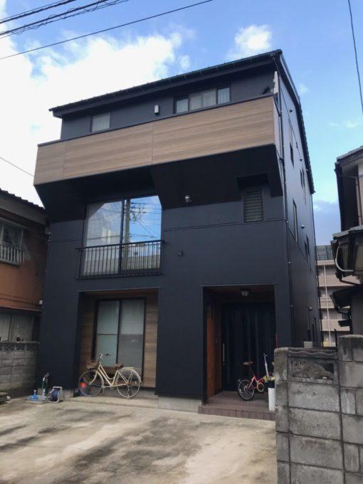 新潟市中央区 外壁カバーリング工事