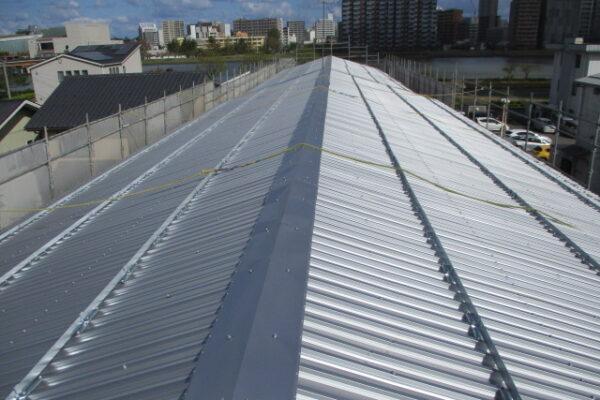 新潟市中央区 屋根改修工事