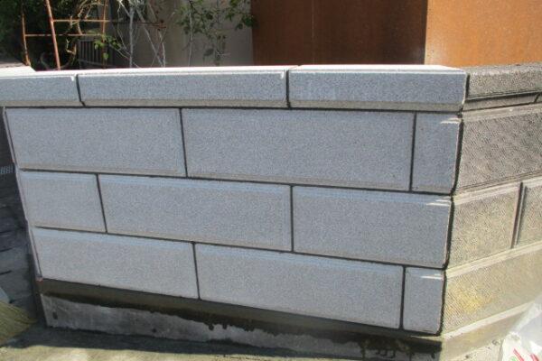 新潟市西区 ブロック塀補修工事