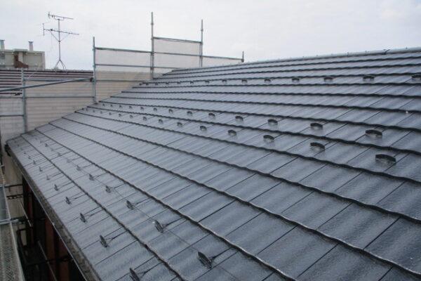 新潟市中央区 屋根塗装工事